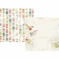 Simple Stories - Simple Vintage Botanicals Collection - 12 x 12 Double Sided Paper - Everyday Bliss