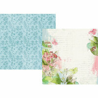 Simple Stories - Simple Vintage Botanicals Collection - 12 x 12 Double Sided Paper - Shine Bright