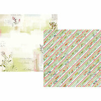 Simple Stories - Simple Vintage Botanicals Collection - 12 x 12 Double Sided Paper - Love and Sunshine