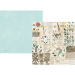 Simple Stories - Simple Vintage Botanicals Collection - 12 x 12 Double Sided Paper - Collect Moments
