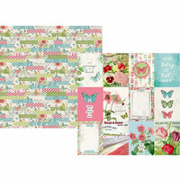 Simple Stories - Simple Vintage Botanicals Collection - 12 x 12 Double Sided Paper - 3 x 4 Elements