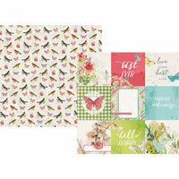 Simple Stories - Simple Vintage Botanicals Collection - 12 x 12 Double Sided Paper - 4 x 4 Elements