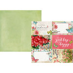 Simple Stories - Simple Vintage Botanicals Collection - 12 x 12 Double Sided Paper - 4 x 6 Elements