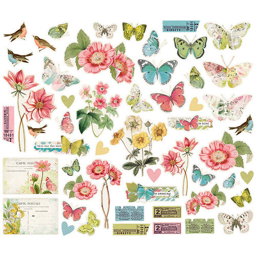 Simple Stories - Simple Vintage Botanicals Collection - Bits and Pieces
