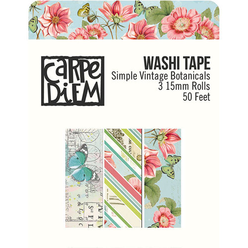 Simple Stories - Simple Vintage Botanicals Collection - Washi Tape