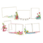 Simple Stories - Simple Vintage Botanicals Collection - Layered Frames