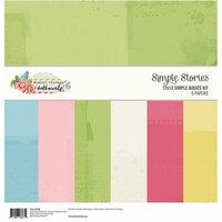 Simple Stories - Simple Vintage Botanicals Collection - 12 x 12 Simple Basics Kit