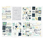 Simple Stories - Heart Collection - Cardstock Stickers