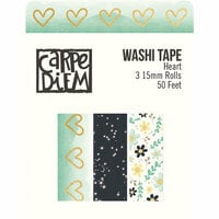 Simple Stories - Heart Collection - Washi Tape with Foil Accents