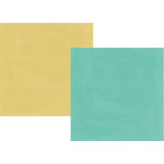 Simple Stories - Heart Collection - 12 x 12 Double Sided Paper - Teal