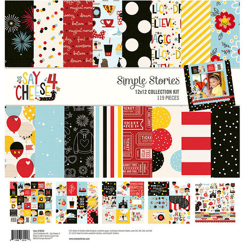 Simple Stories - Say Cheese 4 Collection - 12 x 12 Collection Kit