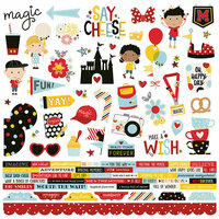 Simple Stories - Say Cheese 4 Collection - 12 x 12 Cardstock Stickers - Combo