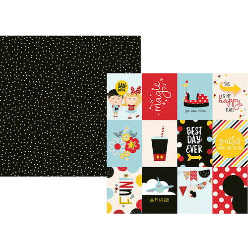 Simple Stories - Say Cheese 4 Collection - 12 x 12 Double Sided Paper - 3 x 4 Elements