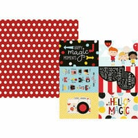 Simple Stories - Say Cheese 4 Collection - 12 x 12 Double Sided Paper - 4 x 6 Elements