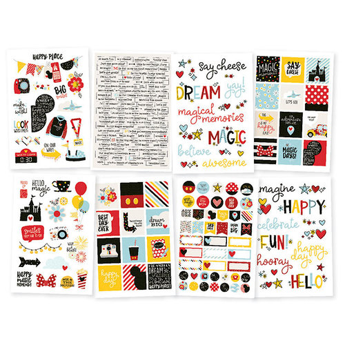 Simple Stories - Say Cheese 4 Collection - Cardstock Stickers