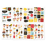 Simple Stories - Say Cheese 4 Collection - Cardstock Stickers - Happy Kids