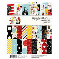 Simple Stories - Say Cheese 4 Collection - 6 x 8 Paper Pad