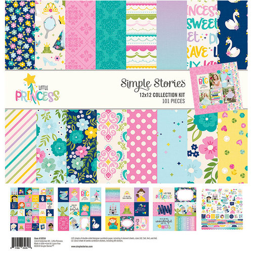 Simple Stories - Little Princess Collection - 12 x 12 Collection Kit