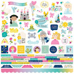 Simple Stories - Little Princess Collection - 12 x 12 Cardstock Stickers - Combo