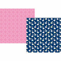 Simple Stories - Little Princess Collection - 12 x 12 Double Sided Paper - Simply Charming