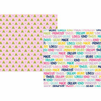 Simple Stories - Little Princess Collection - 12 x 12 Double Sided Paper - Sparkle and Shine