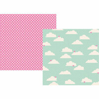Simple Stories - Little Princess Collection - 12 x 12 Double Sided Paper - Dream Come True