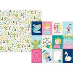 Simple Stories - Little Princess Collection - 12 x 12 Double Sided Paper - 3 x 4 Elements