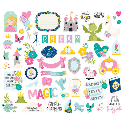 Simple Stories - Little Princess Collection - Bits and Pieces