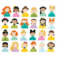 Simple Stories - Little Princess Collection - Bits and Pieces - Princess