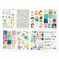 Simple Stories - Little Princess Collection - Cardstock Stickers