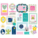 Simple Stories - Little Princess Collection - Tags and Frames