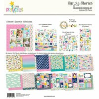 Simple Stories - Little Princess Collection - 12 x 12 Collector's Essential Kit