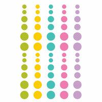 Simple Stories - Little Princess Collection - Enamel Dots