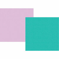 Simple Stories - Little Princess Collection - 12 x 12 Double Sided Paper - Teal