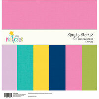 Simple Stories - Little Princess Collection - 12 x 12 Simple Basics Kit