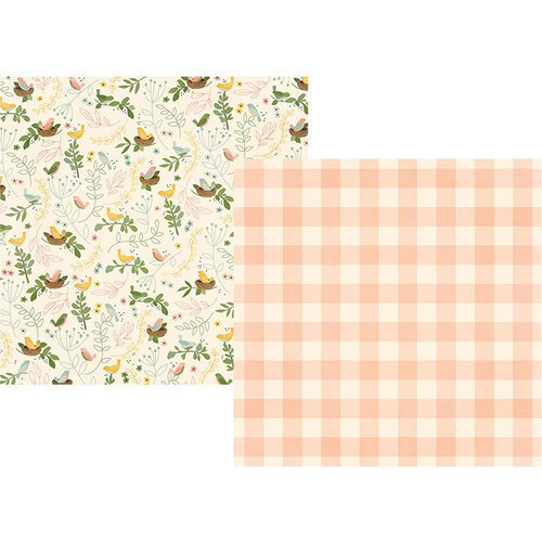 Simple Stories - Spring Farmhouse Collection - 12 x 12 Double Sided Paper - So Blessed
