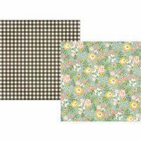 Simple Stories - Spring Farmhouse Collection - 12 x 12 Double Sided Paper - Gather Beauty