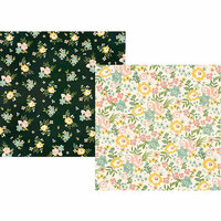 Simple Stories - Spring Farmhouse Collection - 12 x 12 Double Sided Paper - Love a Lot