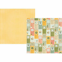 Simple Stories - Spring Farmhouse Collection - 12 x 12 Double Sided Paper - Welcome Home