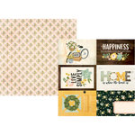 Simple Stories - Spring Farmhouse Collection - 12 x 12 Double Sided Paper - 4 x 6 Elements