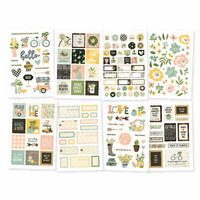 Simple Stories - Spring Farmhouse Collection - Cardstock Stickers