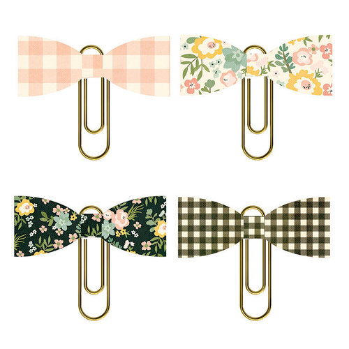 Simple Stories - Spring Farmhouse Collection - Bow Clips