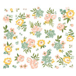Simple Stories - Spring Farmhouse Collection - Bits and Pieces - Floral