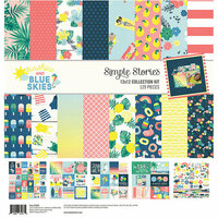 Simple Stories - Sunshine and Blue Skies Collection - 12 x 12 Collection Kit