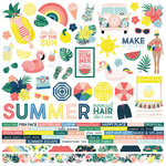 Simple Stories - Sunshine and Blue Skies Collection - 12 x 12 Cardstock Stickers - Combo