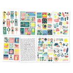 Simple Stories - Sunshine and Blue Skies Collection - Cardstock Stickers