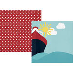 Simple Stories - Cruisin' Collection - 12 x 12 Double Sided Paper - Set Sail