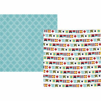 Simple Stories - Cruisin' Collection - 12 x 12 Double Sided Paper - Ports of Call