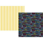 Simple Stories - Cruisin' Collection - 12 x 12 Double Sided Paper - AHOY
