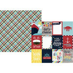 Simple Stories - Cruisin' Collection - 12 x 12 Double Sided Paper - 3 x 4 Elements